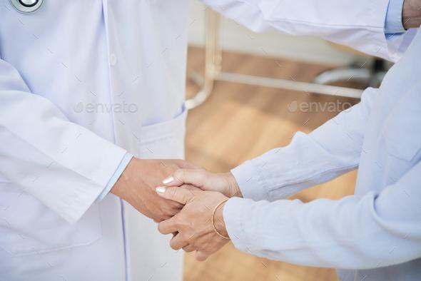 Grateful patient - Stock Photo - Images
