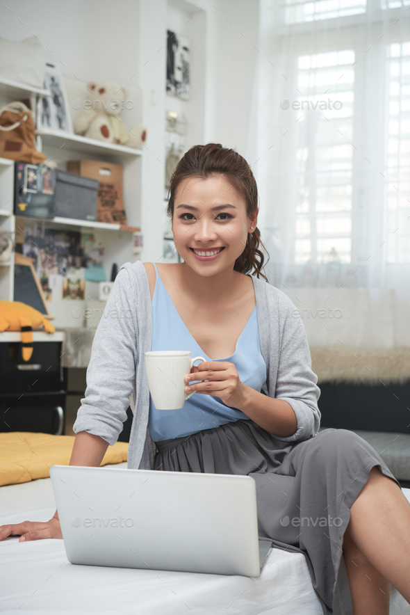 Morning coffee at home - Stock Photo - Images