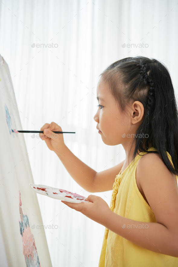 Artistic child - Stock Photo - Images
