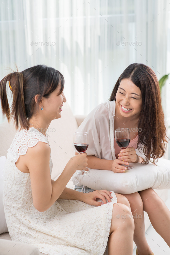 Spending time with best friend - Stock Photo - Images