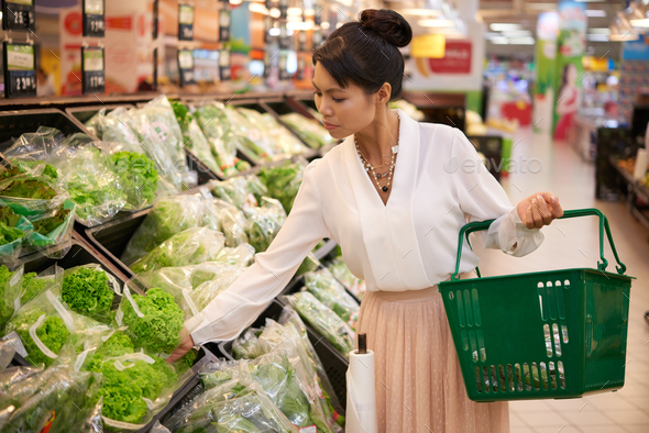 Shopping for food - Stock Photo - Images