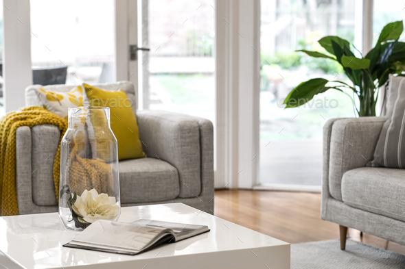 Livingroom setting - Stock Photo - Images