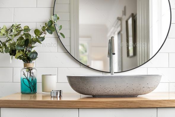 Bathroom Basin - Stock Photo - Images