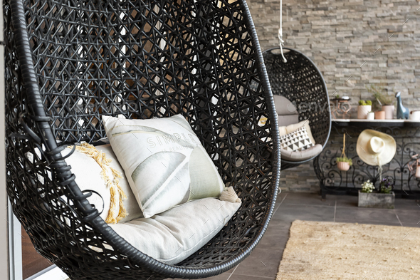 Hanging Chairs - Stock Photo - Images