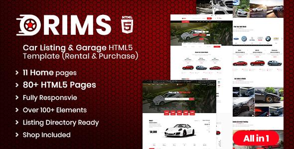 Rims | Car Services HTML5 Template
