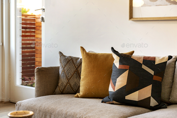 Couch Setting - Stock Photo - Images