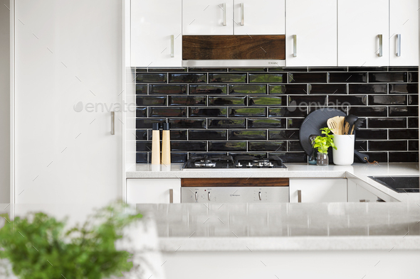 Kitchen bench - Stock Photo - Images