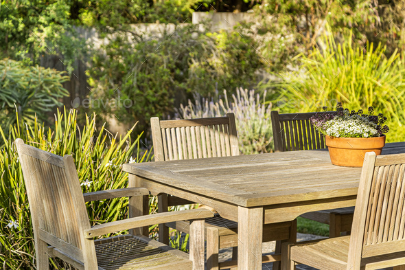 Outdoor Table - Stock Photo - Images