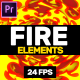 Fire Explotions // MOGRT - VideoHive Item for Sale