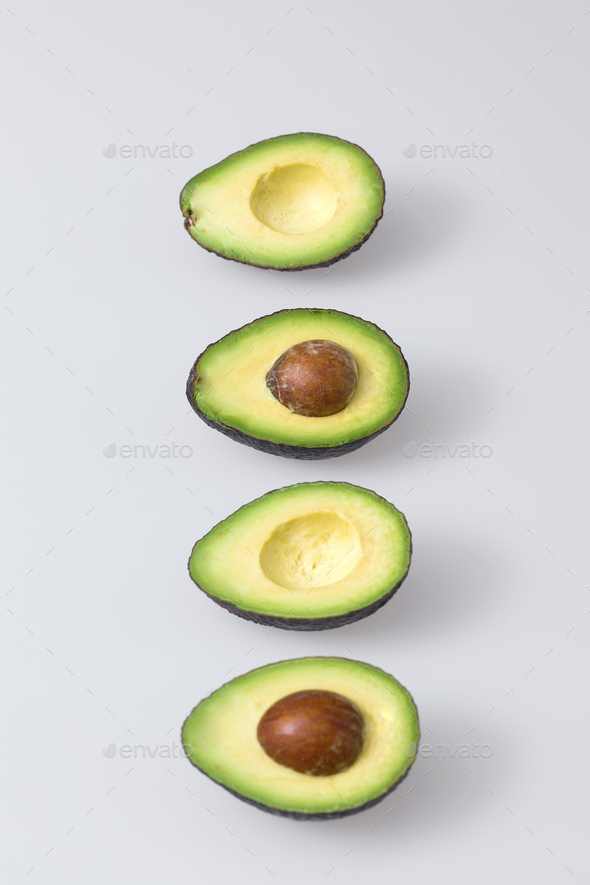 fresh, ripe avocado, the healthiest fruits. making salad, smoothie, oil by avocado. - Stock Photo - Images