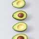 fresh, ripe avocado, the healthiest fruits. making salad, smoothie, oil by avocado. - PhotoDune Item for Sale