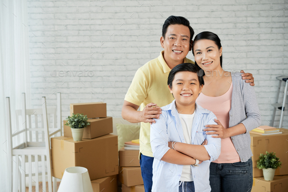 Capturing Relocation in New Apartment - Stock Photo - Images