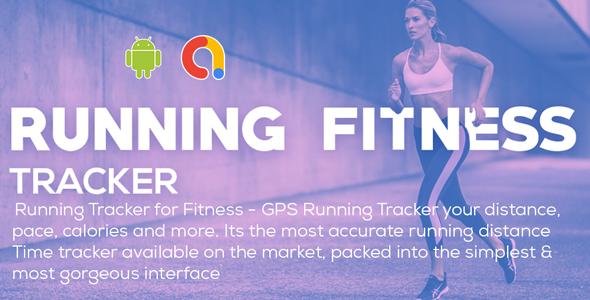 Running Tracker for Fitness - GPS Running Tracker   Running Fitness   Android App   Admob Ads