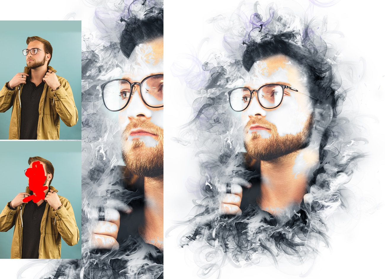Smoke Manipulation Photoshop Action