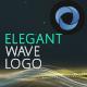 Elegant Wave Logo Opener  l  Particles Lines Logo Opener - VideoHive Item for Sale