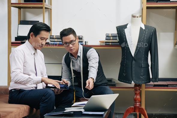 Discussing creative ideas - Stock Photo - Images