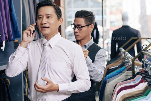 Ordering suit - Stock Photo - Images