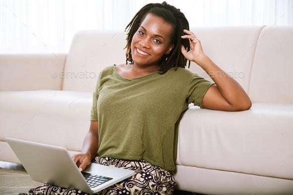 Female freelancer - Stock Photo - Images