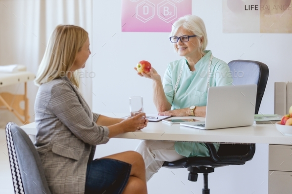 Planning healthy diet - Stock Photo - Images