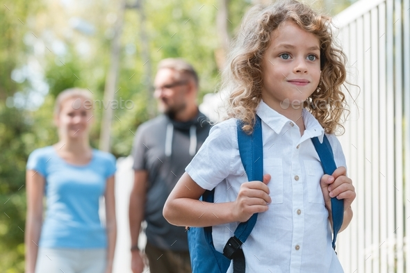 Boy ready for schol - Stock Photo - Images