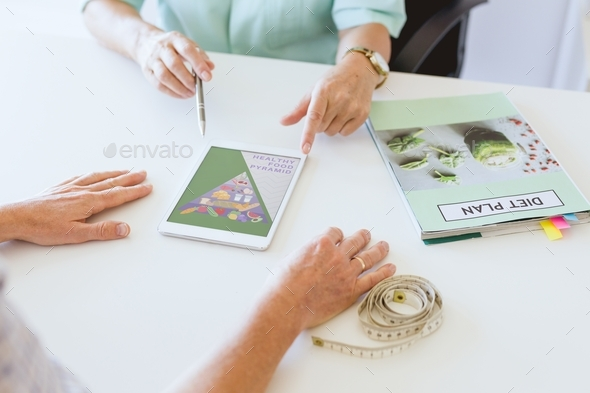 Appointment with dietician - Stock Photo - Images