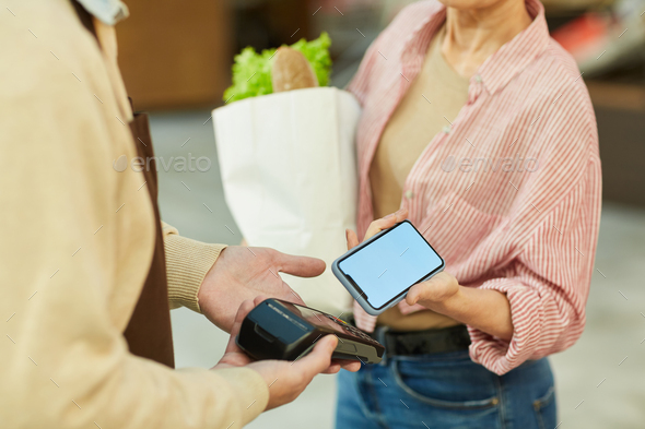 NFC Payment Close up - Stock Photo - Images