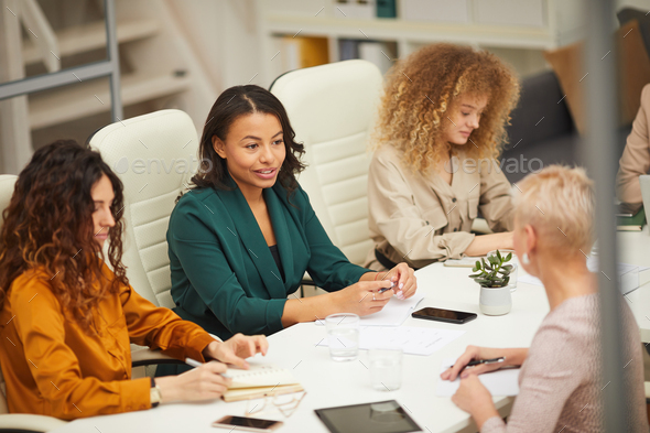 Businesswomen At Meeting - Stock Photo - Images
