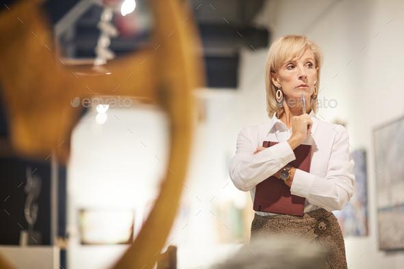 Female Art Expert - Stock Photo - Images