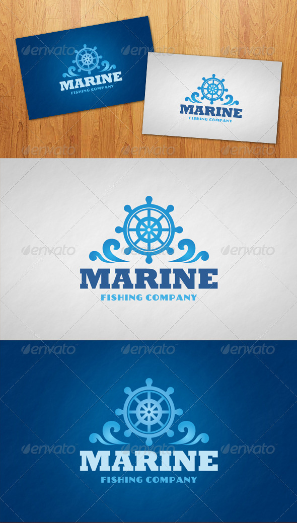 Marine Logo - Objects Logo Templates