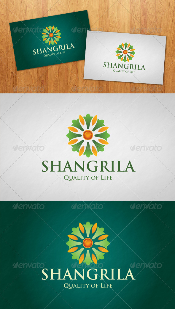 Shangrila Logo - Vector Abstract