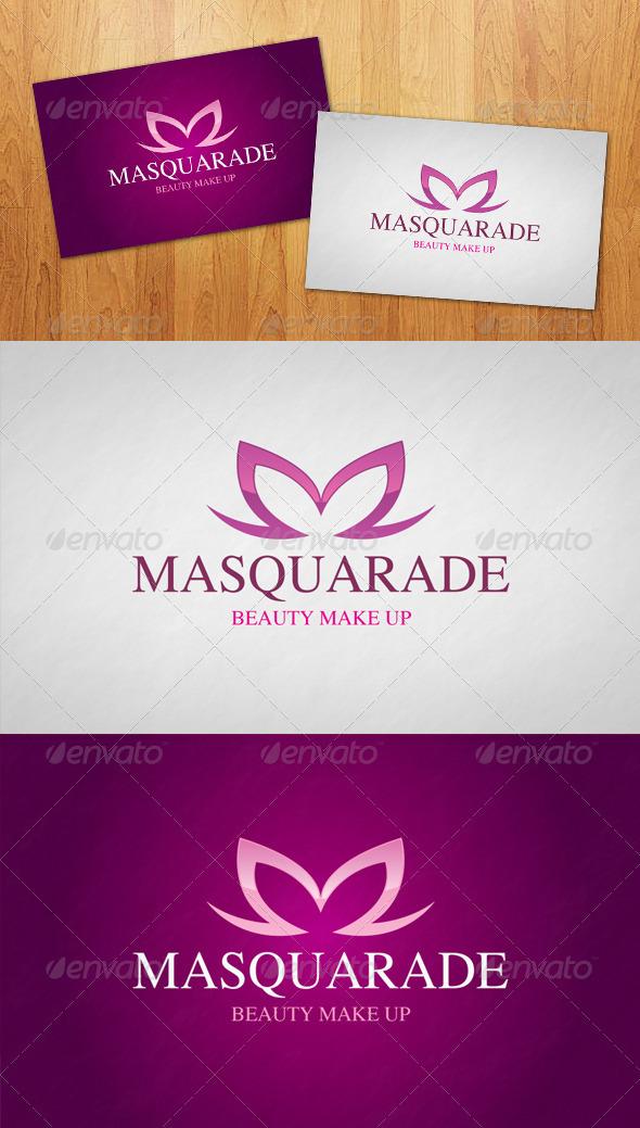 Masquerade Logo - Letters Logo Templates