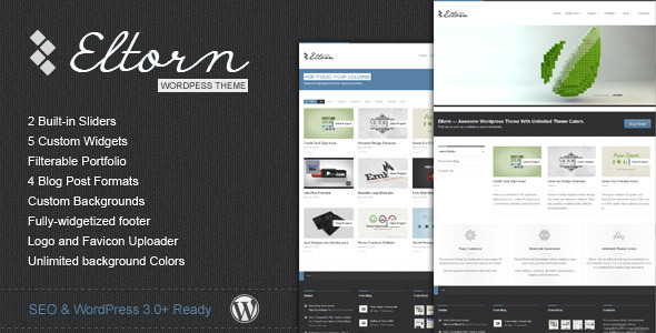 Eltorn - Premium WordPress Theme - Title Theme