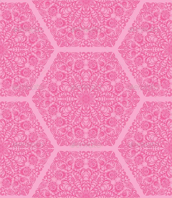 Seamless floral pattern - Patterns Decorative
