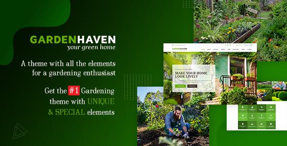 Garden - Landscape Gardening WordPress Theme