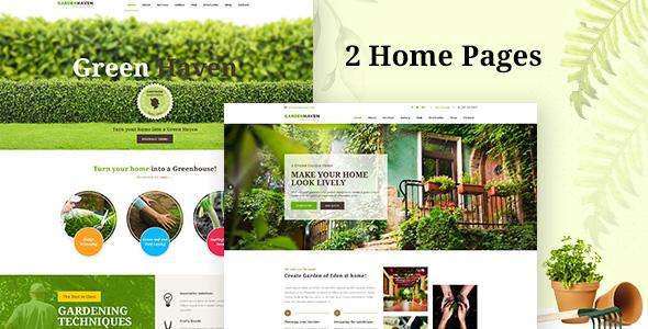 Garden Landscape Gardening Wordpress Theme By Designthemes