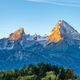 The first sunlight hits the famous Mount Watzmann - PhotoDune Item for Sale