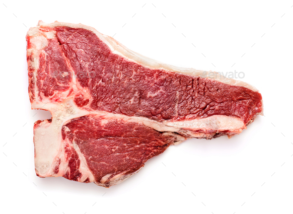 Raw beef steak - Stock Photo - Images