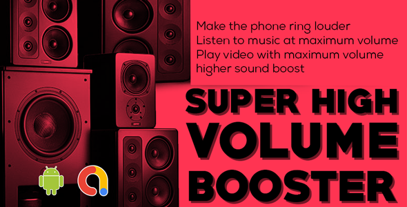 Super Sound Booster   Extra Volume Booster   ultra sound booster   Volume Booster Lite   Admob Ads