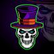 Magician Skull Logo