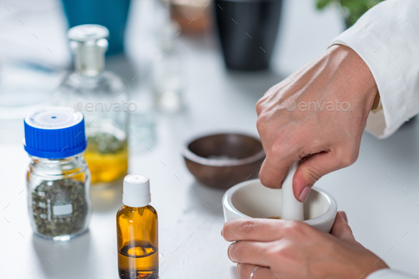 Homeopathy lab. - Stock Photo - Images