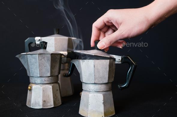 Fresh coffee - Stock Photo - Images