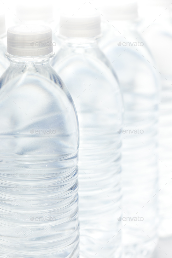 Water Bottles Abstract - Stock Photo - Images