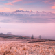 Panoramic View over Tatra Mountains in Snow over Fog at Sunrise in Pieniny, Poland - PhotoDune Item for Sale