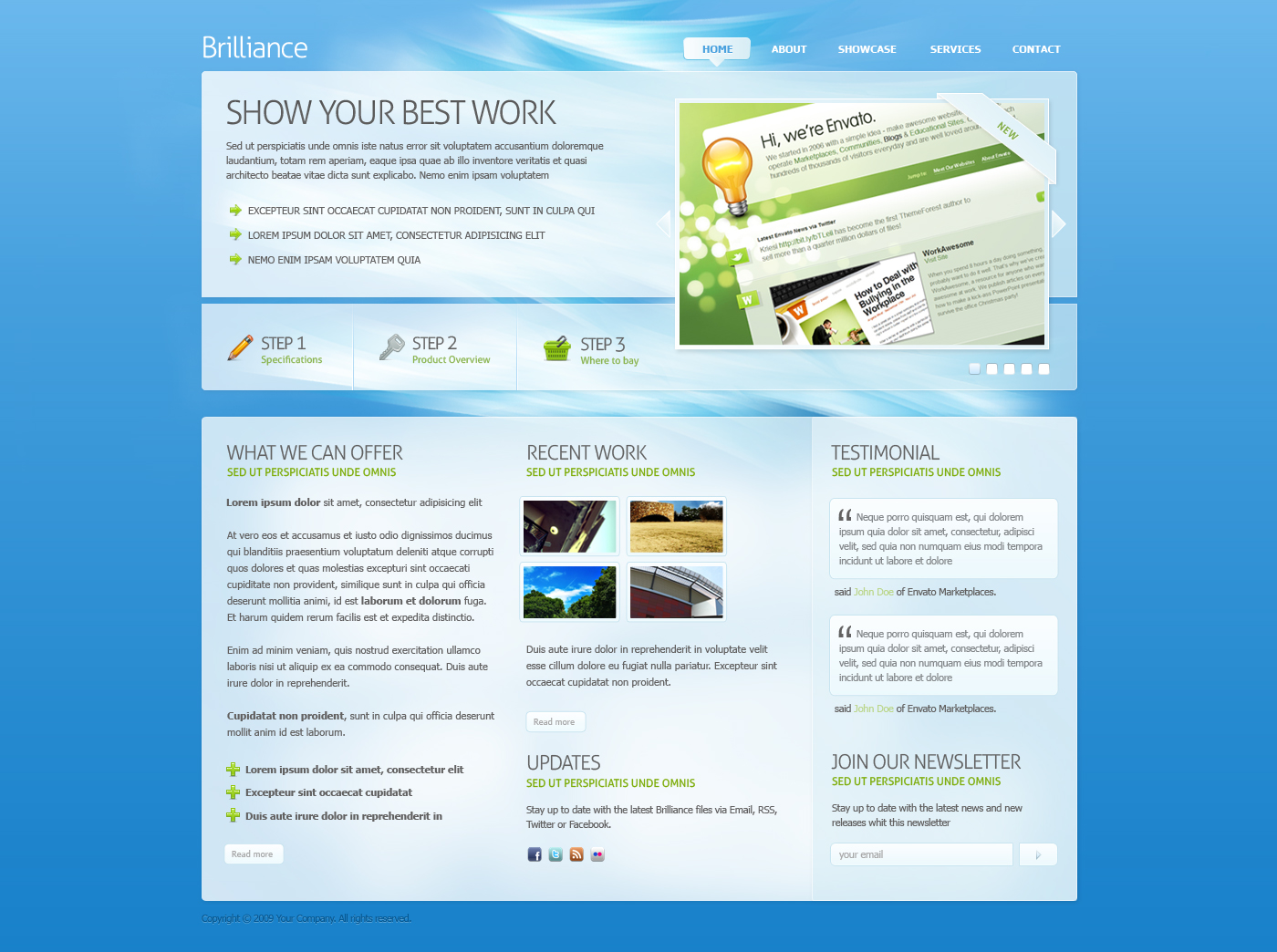 Free Download Brilliance PSD Template Nulled Latest Version