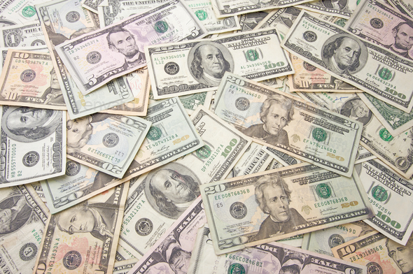 Stack of Money - Stock Photo - Images