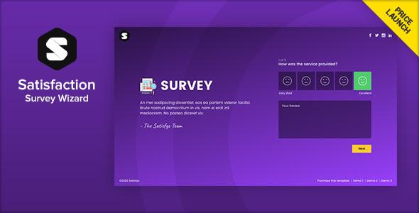 Satisfyc - Satisfaction Survey Form Wizard by Ansonika