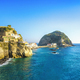 Sant Angelo beach and rocks in Ischia island. Campania, Italy. - PhotoDune Item for Sale