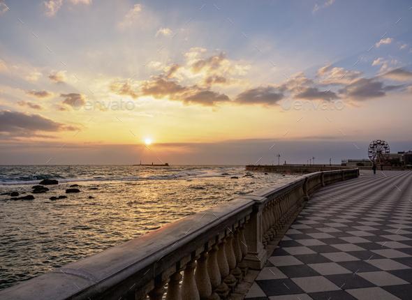 Livorno in Tuscany, Italy - Stock Photo - Images