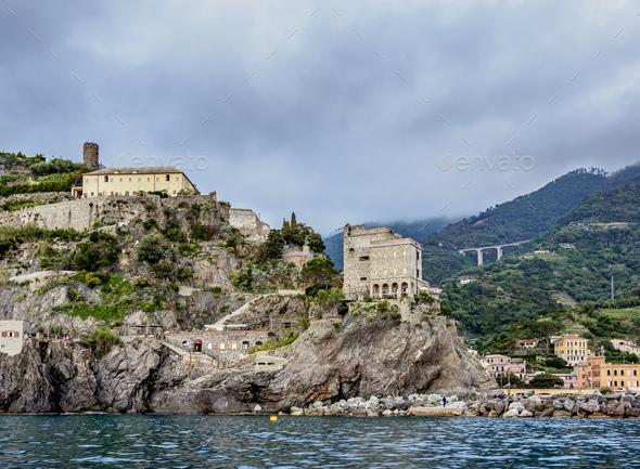 Monterosso al Mare in Cinque Terre, Italy - Stock Photo - Images