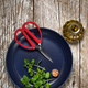 Freshly cut mint leaves on a plate. - PhotoDune Item for Sale